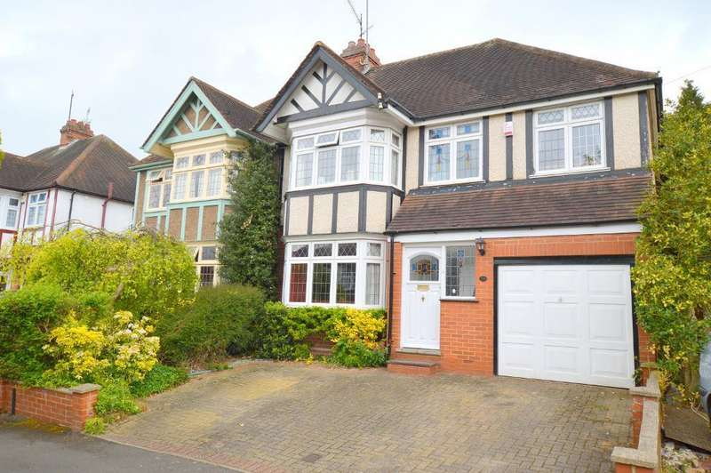 5 Bedrooms Semi Detached House for sale in Elmwood Crescent, Luton, LU2 7HX