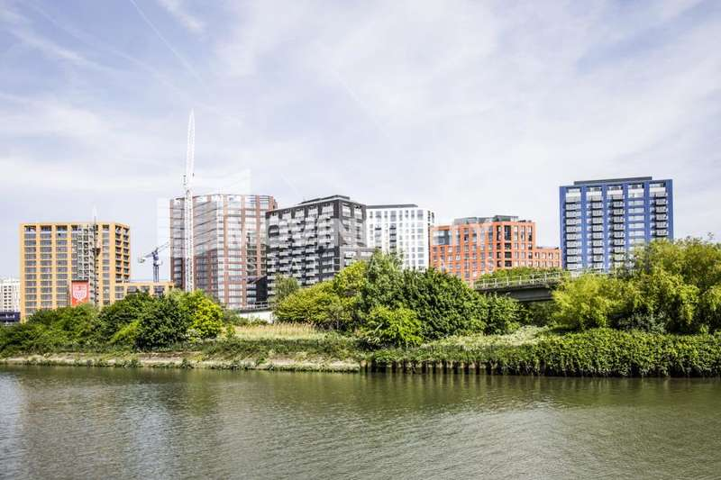 2 Bedrooms Flat for sale in Bridgewater House, City Island, Canning Town, E16