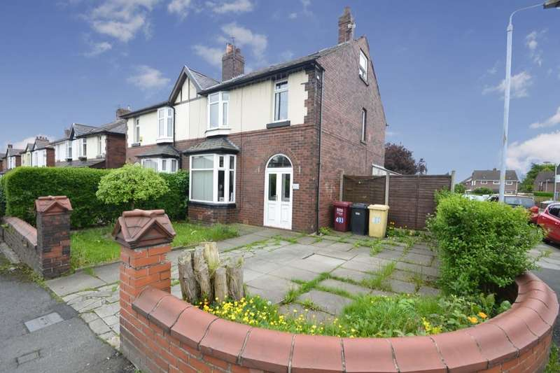 4 Bedrooms Semi Detached House for sale in Plodder Lane, Farnworth, Bolton, BL4