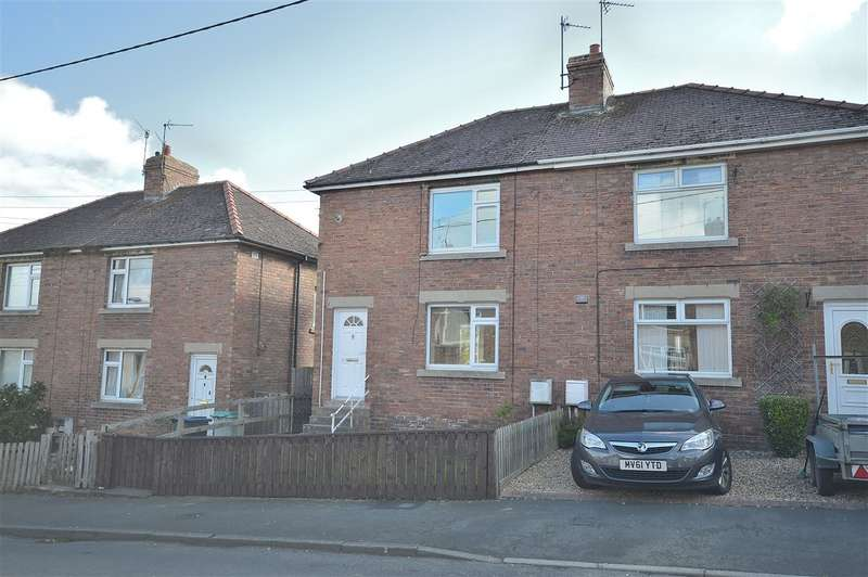 2 Bedrooms Semi Detached House for sale in Derwent Crescent, Hamsterley Colliery