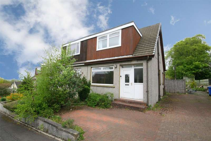 3 Bedrooms Semi Detached House for sale in Greenvale Drive, Falkirk