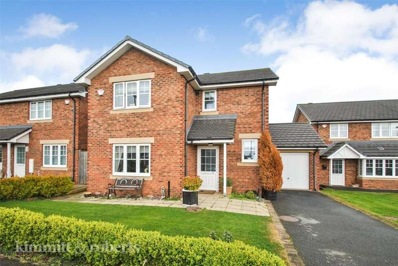 3 Bedrooms Detached House for sale in Harle Close, Houghton le Spring, Tyne and Wear, DH4
