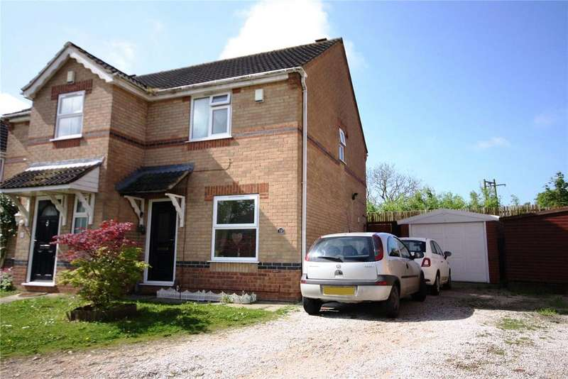 2 Bedrooms Semi Detached House for sale in Curtis Drive, Heighington, Lincoln, Lincolnshire, LN4
