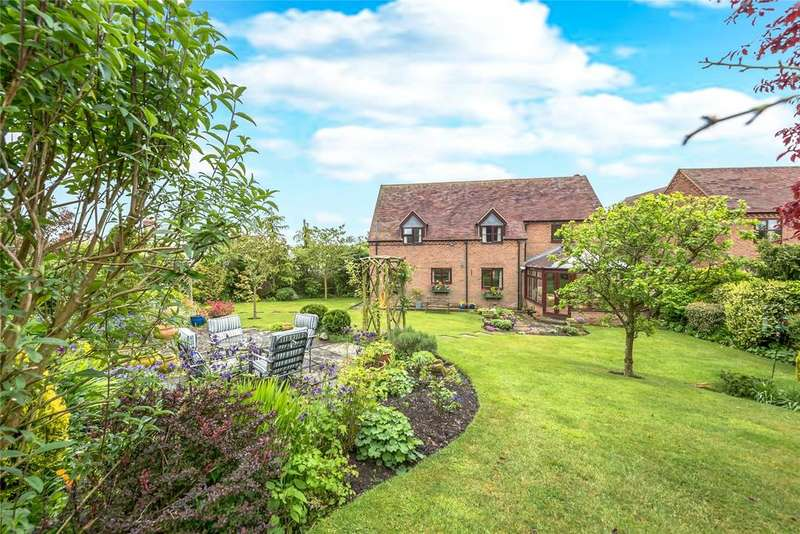 4 Bedrooms Detached House for sale in Clayton Close, Knowbury, Ludlow, Shropshire