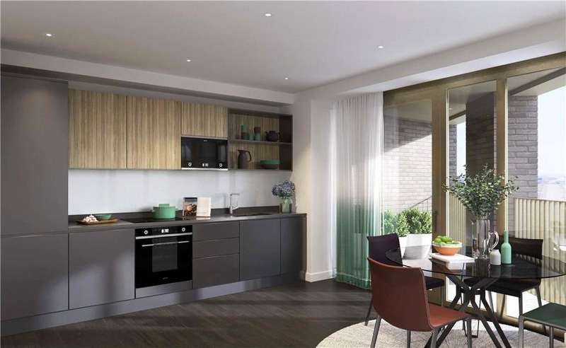 3 Bedrooms Flat for sale in Royal Victoria Docks, E16