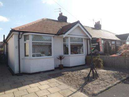 2 Bedrooms Bungalow for sale in Kendal Avenue, Blackpool, Lancashire, FY3