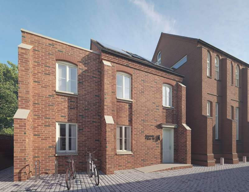 1 Bedroom Flat for sale in Apartment 3, St Lukes Passage, Augusta Place, Leamington Spa