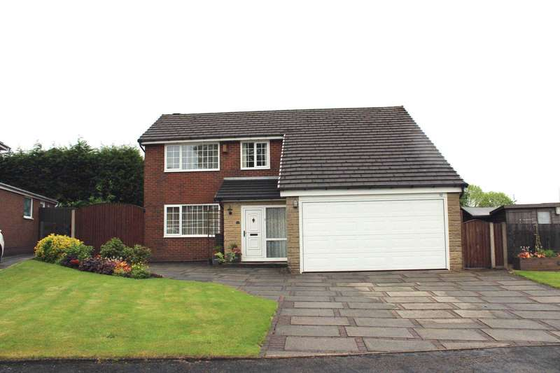 4 Bedrooms Detached House for sale in Birchfield Grove, Ladybridge