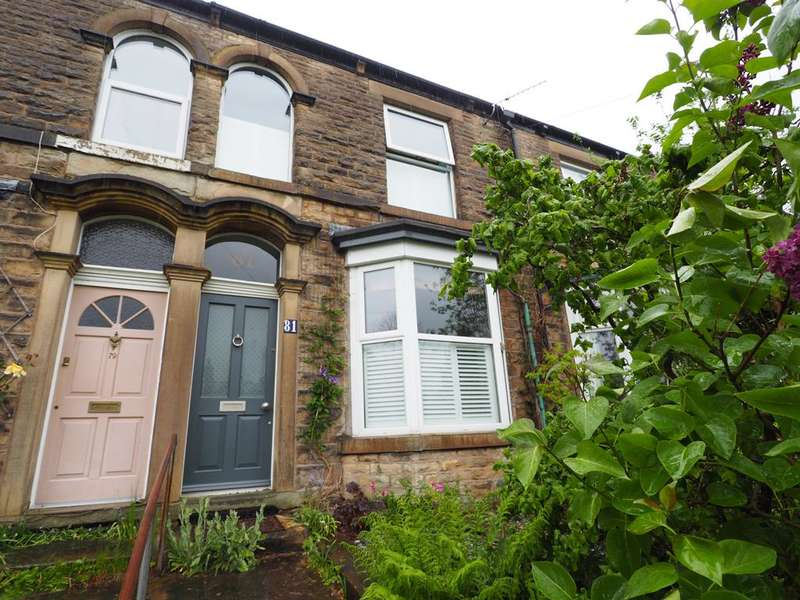 3 Bedrooms Terraced House for sale in Spring Bank, New Mills, High Peak, Derbyshire, SK22 4BH