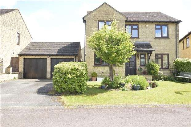4 Bedrooms Detached House for sale in Anderson Close, Woodmancote, GL52 9PS