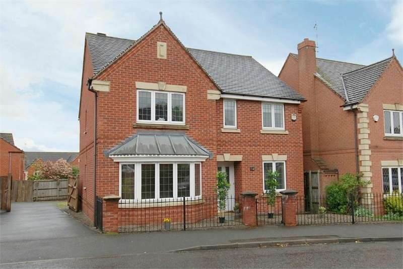 4 Bedrooms Detached House for sale in Coton Park Drive, RUGBY, Warwickshire