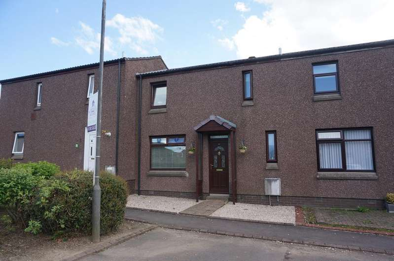 3 Bedrooms Terraced House for sale in Ben Ledi Crescent, Eastfield, Cumbernauld G68