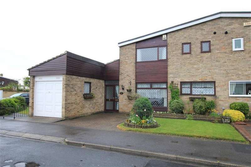 3 Bedrooms Semi Detached House for sale in Bousfield Crescent, Newton Aycliffe, County Durham