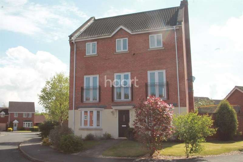 4 Bedrooms Detached House for sale in Stirling Drive, Coddington