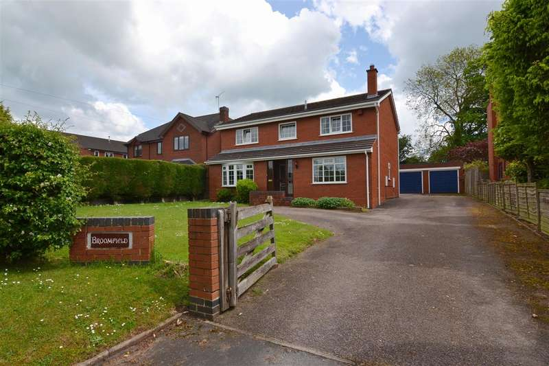 4 Bedrooms Detached House for sale in Broomfield, Glebe Lane, Gnosall