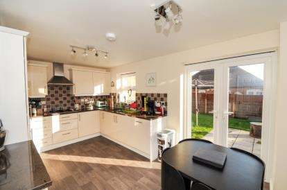 4 Bedrooms Detached House for sale in Hancock Drive, Bardney, Lincoln, Lincolnshire