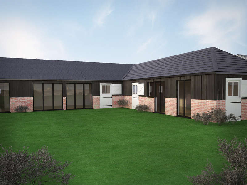 4 Bedrooms Link Detached House for sale in Plot 1 The Barns, Bedford Road, Cople, MK44