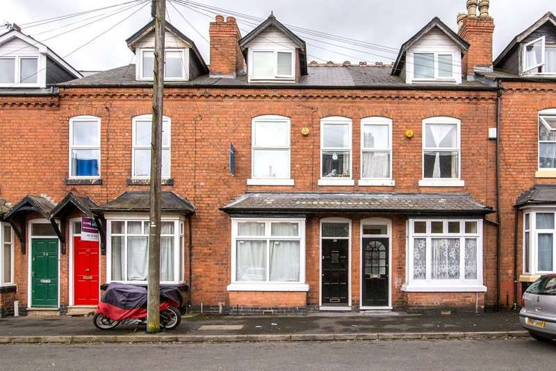 4 Bedrooms Terraced House for sale in Leslie Road, Edgbaston, Birmingham, B16 9DX
