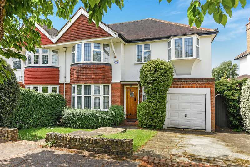 4 Bedrooms Semi Detached House for sale in Cuckoo Hill Road, Pinner, Middlesex, HA5