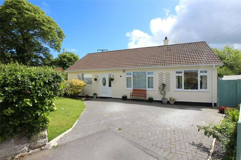 2 Bedrooms Detached Bungalow for sale in Vellan Close, Barripper, Cornwall