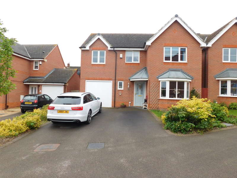 4 Bedrooms Detached House for sale in Portland Way, Kings Clipstone, Mansfield