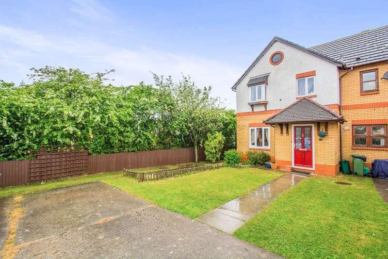 3 Bedrooms Semi Detached House for sale in Cwrt Y Garth, Beddau, Pontypridd