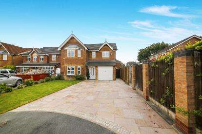 4 Bedrooms Detached House for sale in Beckenham Close, Widnes, Cheshire, WA8