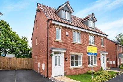 3 Bedrooms Semi Detached House for sale in Manor House Court, The Portlands, Chesterfield, Derbyshire