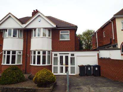 3 Bedrooms Semi Detached House for sale in Fairford Road, Birmingham, West Midlands