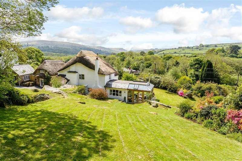 4 Bedrooms Detached House for sale in Manaton, Devon, TQ13