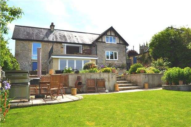 4 Bedrooms Detached House for sale in Ostlings Lane, Bathford, BATH, Somerset, BA1 7RW