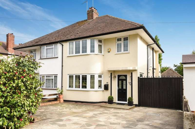 3 Bedrooms Semi Detached House for sale in Bridle Road, Pinner
