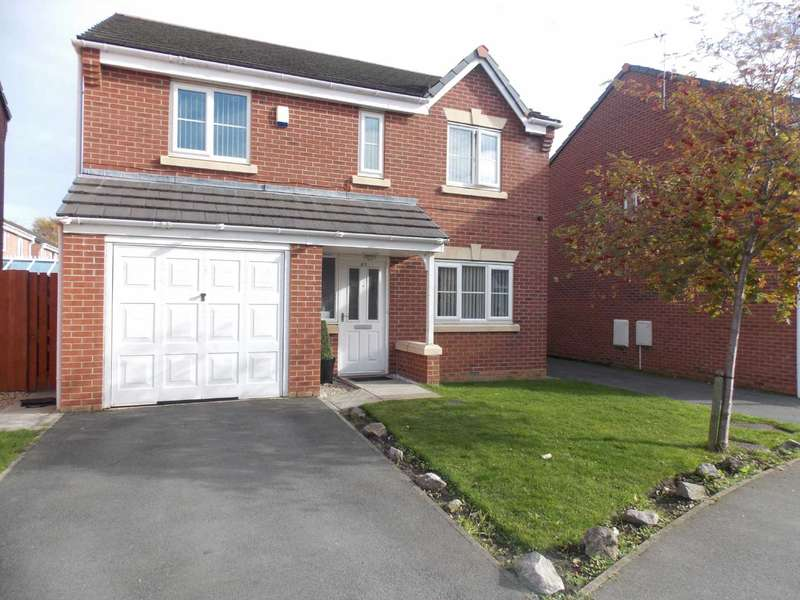 4 Bedrooms Detached House for sale in Papillion Drive, Fazakerley