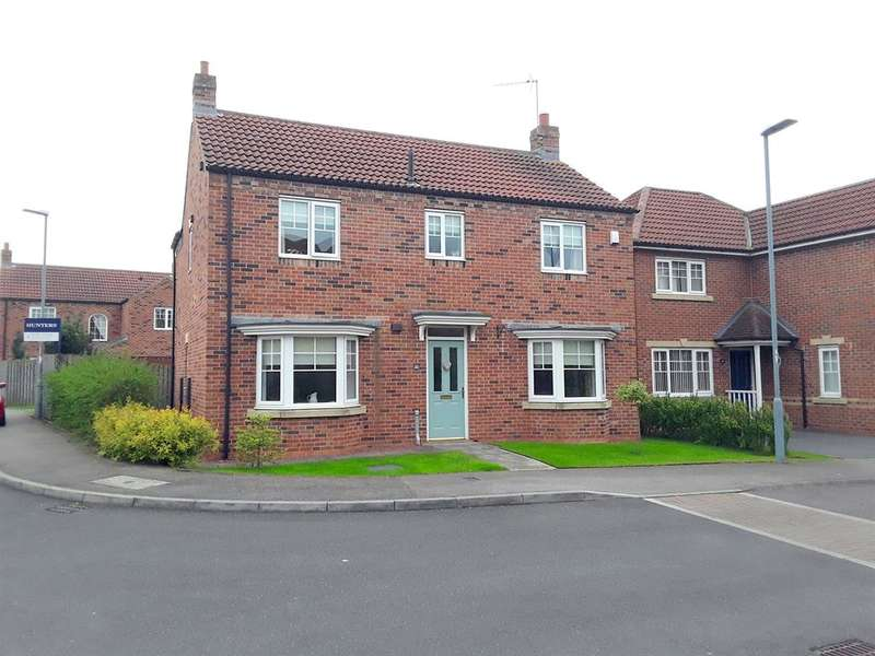 4 Bedrooms Detached House for sale in Village Gate, Howden Le Wear, Crook, DL15 8EF