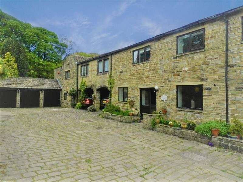4 Bedrooms Barn Conversion Character Property for sale in Highfield Court, Shepley, Huddersfield, HD8