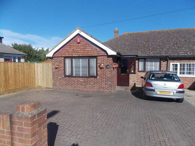 2 Bedrooms Semi Detached Bungalow for sale in Roderick Avenue, Peacehaven, East Sussex