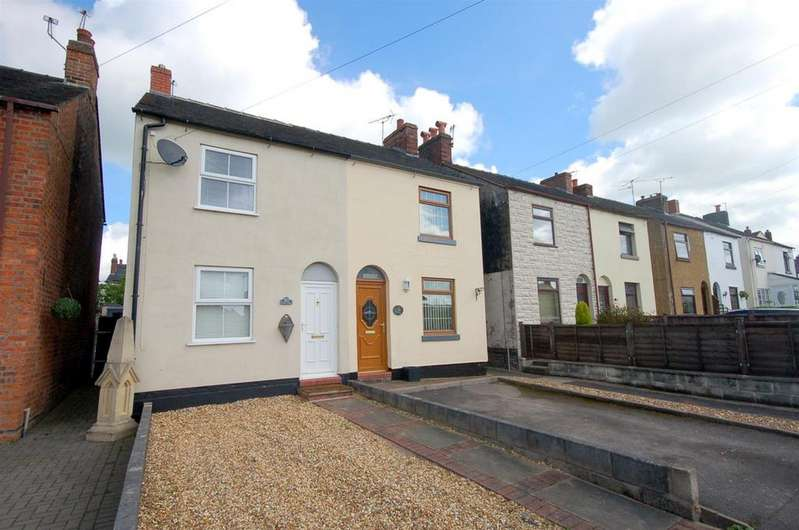 2 Bedrooms Semi Detached House for sale in Queen Street, Audley