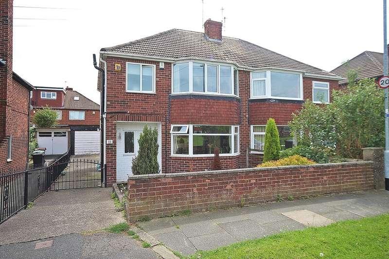3 Bedrooms Semi Detached House for sale in Kelmscott Green, Leeds, LS15