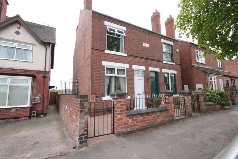 3 Bedrooms Semi Detached House for sale in Park Road, Ilkeston