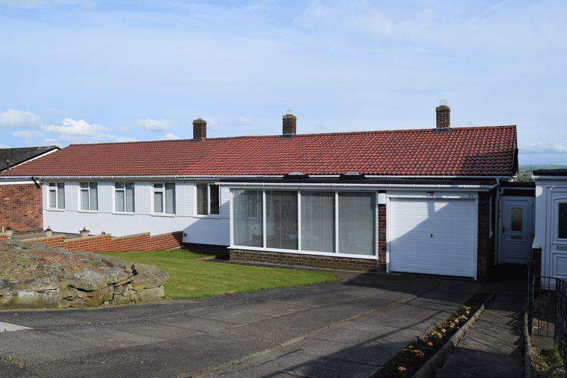 2 Bedrooms Semi Detached Bungalow for sale in Aquila Drive, Heddon on the Wall