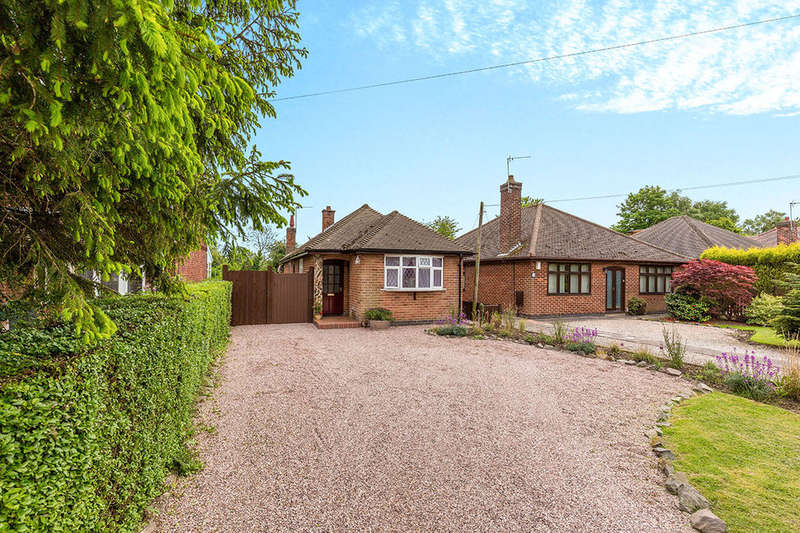 2 Bedrooms Detached Bungalow for sale in Leicester Road, Ibstock, LE67
