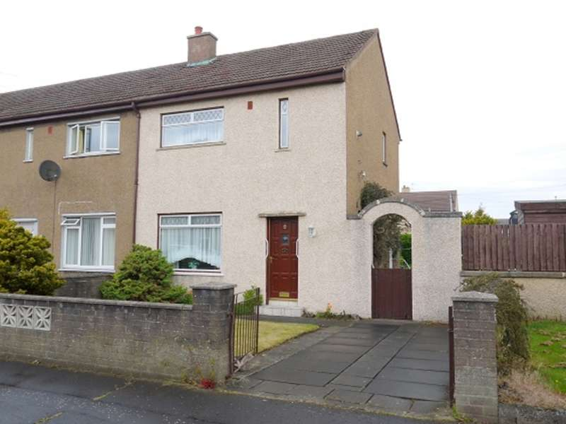 2 Bedrooms End Of Terrace House for sale in Cunninghame Road, Prestwick, KA9