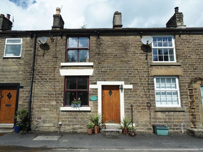 2 Bedrooms Cottage House for sale in Batemill Road, Birch Vale, High Peak, Derbyshire, SK22 1BB