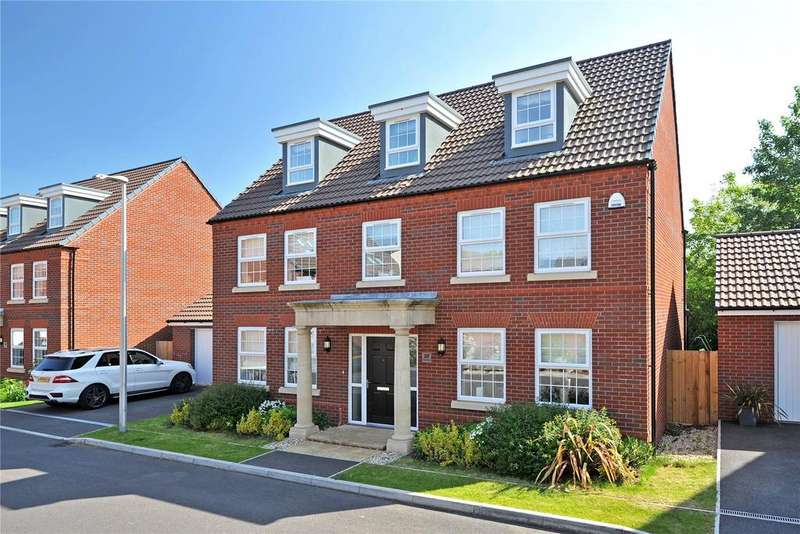 5 Bedrooms Detached House for sale in Veysey Close, Earls Park, Exeter, EX2
