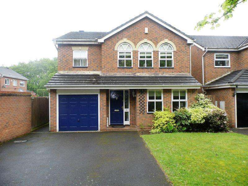 4 Bedrooms Detached House for sale in Excelsior Grove, Pelsall, Walsall
