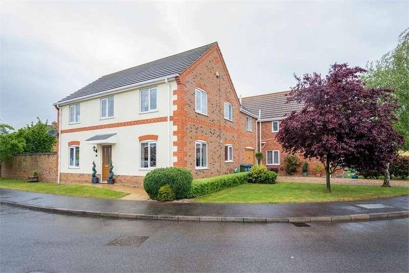 4 Bedrooms Detached House for sale in Poppy Close, Boston, Lincolnshire