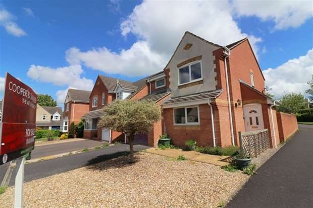 3 Bedrooms Detached House for sale in Simmons Close, Street
