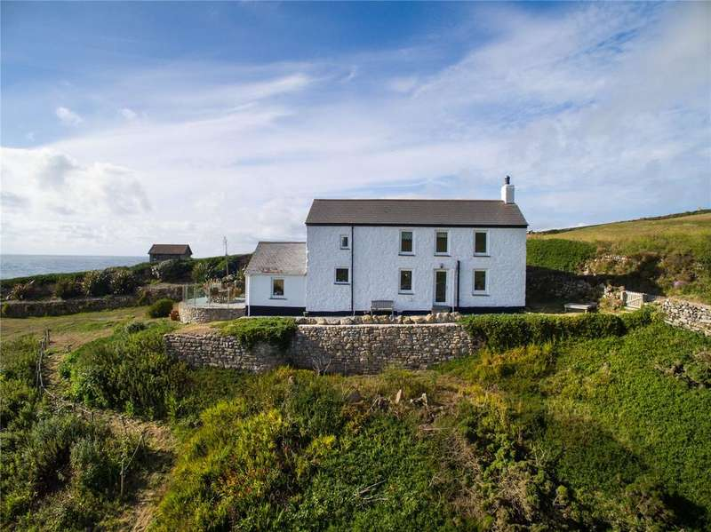 3 Bedrooms Detached House for sale in Cape Cornwall, St. Just, Penzance, Cornwall, TR19
