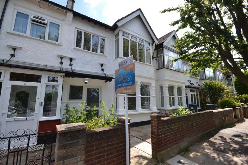 3 Bedrooms Terraced House for sale in Briarfield Avenue, Finchley, London, N3