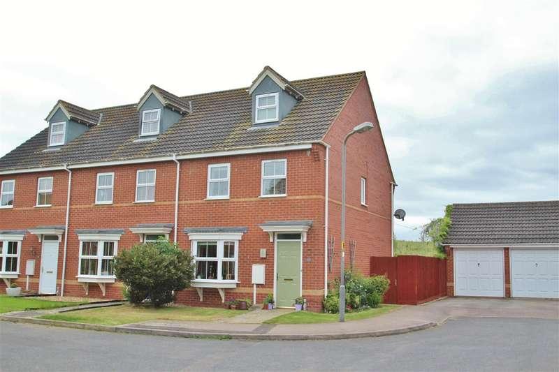 3 Bedrooms End Of Terrace House for sale in Tudors Close, Calvert Green